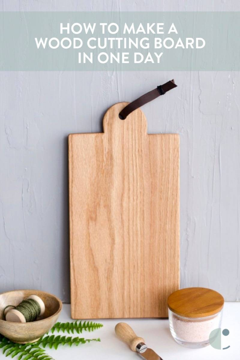 How to craft a wooden cutting board