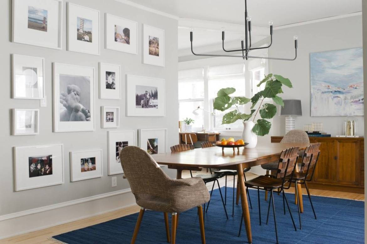 Dining Room Gallery Wall Styled by Emily Henderson