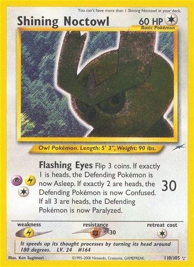 Pokemon Neo Destiny Single Shining Noctowl 110105 DA Card World