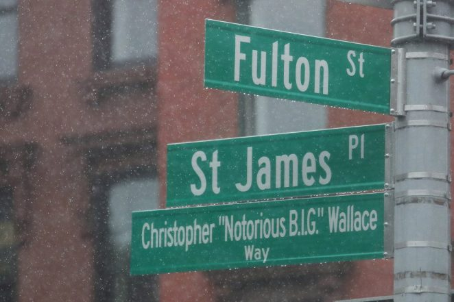 The Notorious B.I.G. now has his own street in Brooklyn