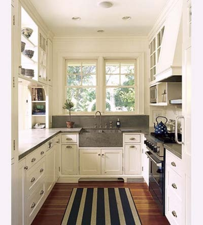 Galley style kitchen remodel ideas. small small. small galley ...