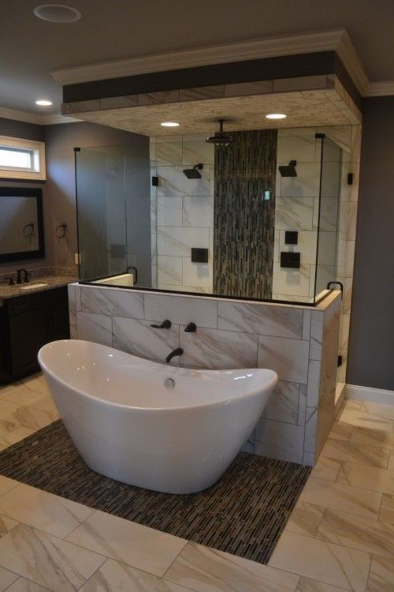 1000 Ideas About Tub In Shower On Pinterest Design