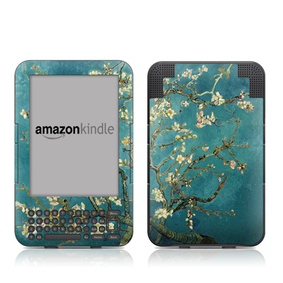Kindle 3 Skin - Van Gogh - Blossoming Almond Tree