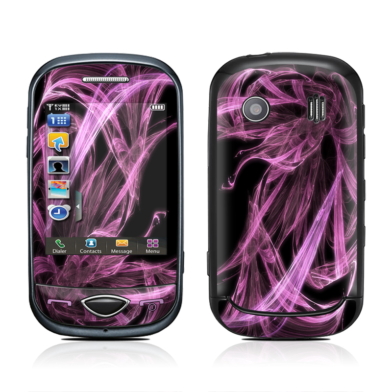 The DecalGirl skin kit for the Samsung Corby Plus (B3410) protects and