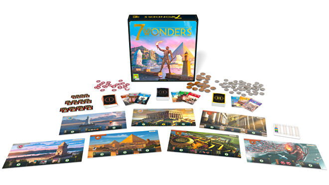 7-Wonderers-Second Edition-Board-Game-components.jpg