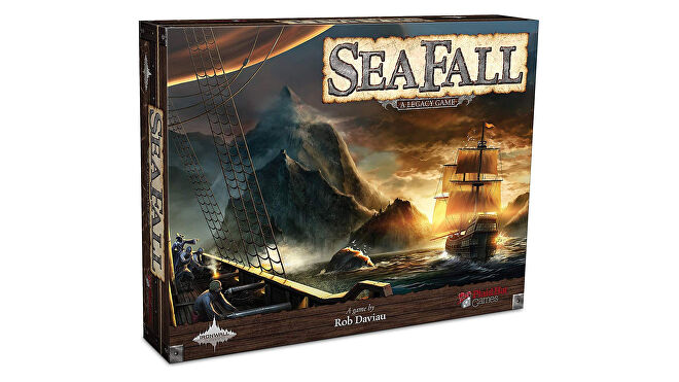 Boîte de jeu SeaFall Legacy