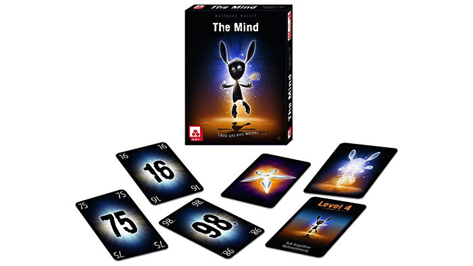 Boîte et cartes de jeu coopératif The Mind