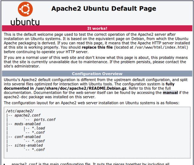 Cara Install APACHE MYSQL PHP on Ubuntu