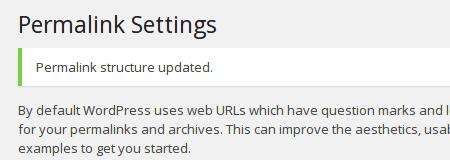 WordPress perma update