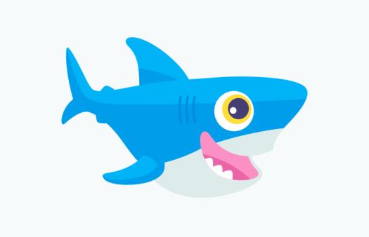 Image result for digital ocean shark