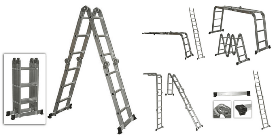 Multi Purpose Aluminum Ladder.