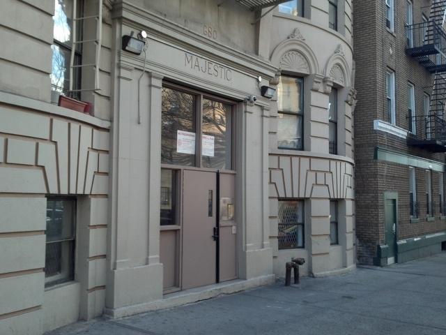 Outside 680 St. Nicholas Ave.