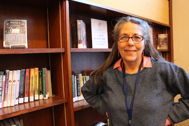 The children's section at St. Agnes has received a bit of a makeover since the arrival of its new librarian.