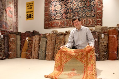 Persian rug dealer Darius Nemati said he fears that less-informed immigrants will get confused about President Donald Trump's executive order.