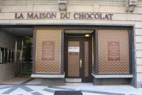 La Maison Du Chocolat Opens Pop Up Next to Flagship During     La Maison du Chocolat Renovates Flagship Store