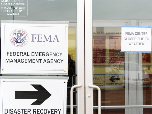 Tottenville FEMA Office Closed