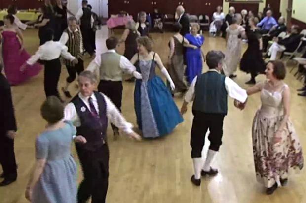 Jane Austen Era Dancing Whirls Into Greenwich Village