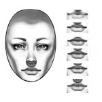 How To Draw Real Faces Draw Faces Step By Step Drawing Guide By Catherinelennon Dragoart Com