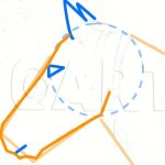 How To Draw A Horse Head Step By Step Drawing Guide By Finalprodigy Dragoart Com