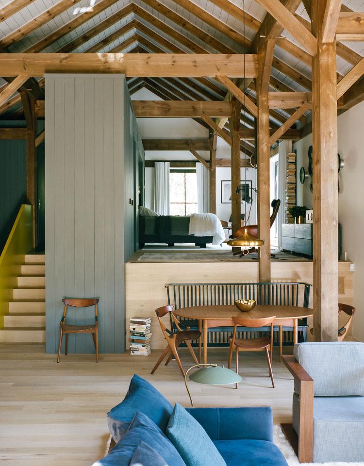 Binnenkijken | Wonen in een schuur - woonblog StijlvolStyling.com