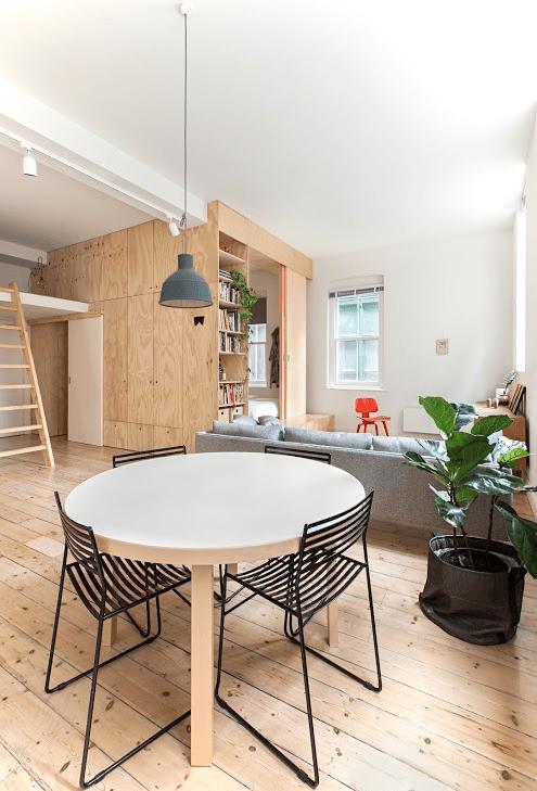 Melbourne Apartment Dining Area