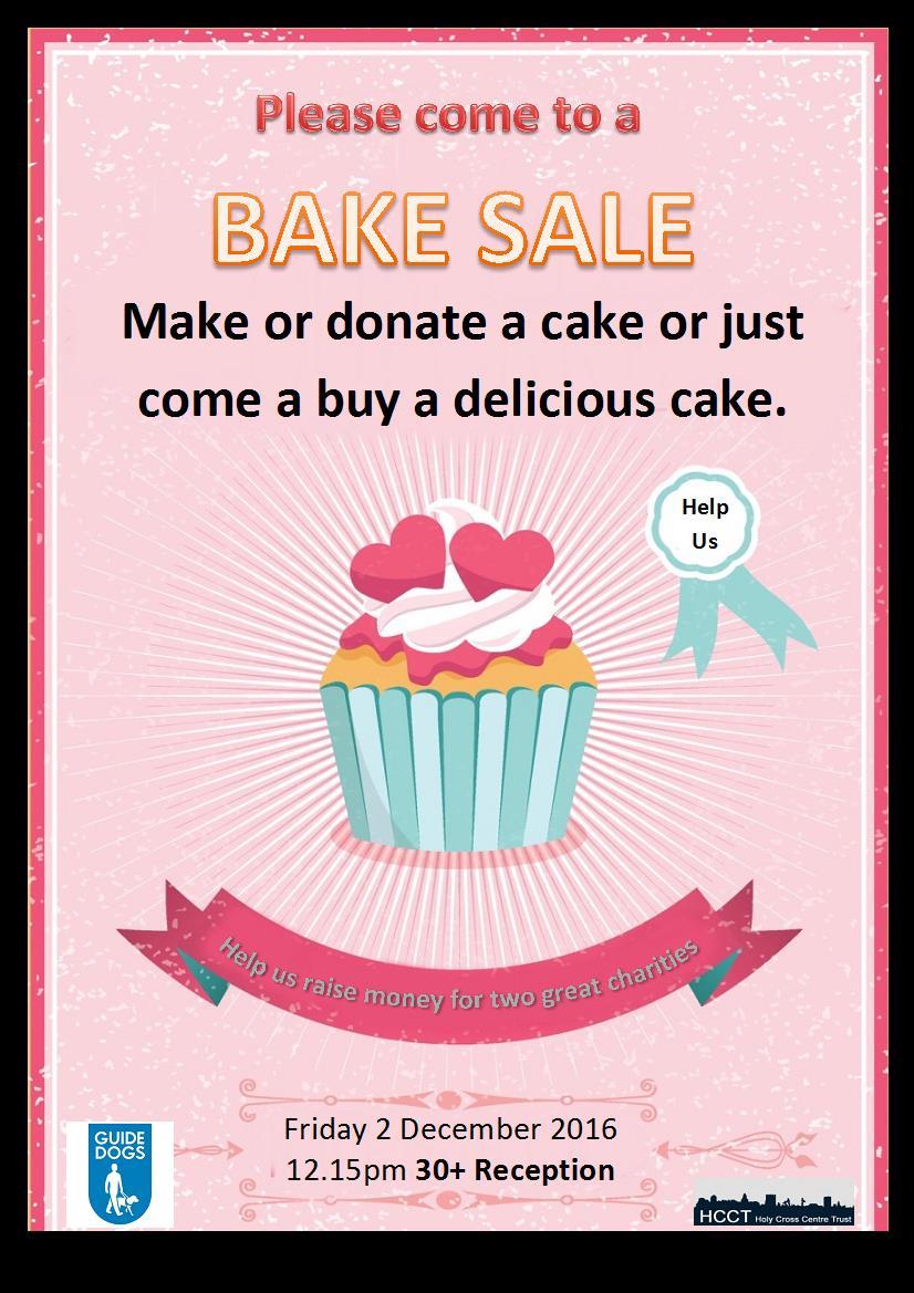 Charity Bake Sale At Ec London 30 Ec London 30