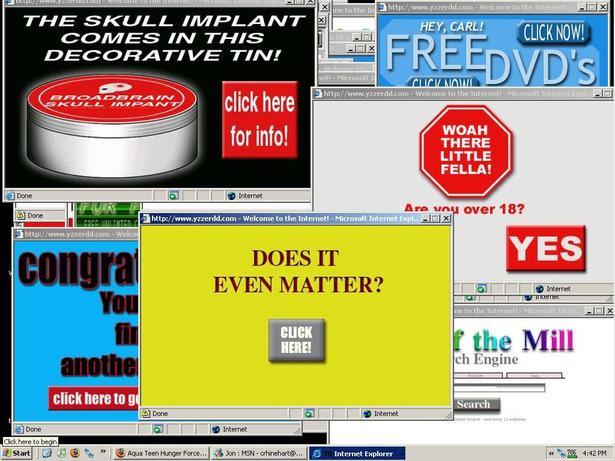 STOP à la poublicité en ligne