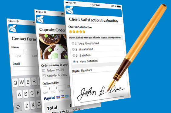 Email contact software