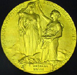 The Nobel Prize Medal in Chemistry