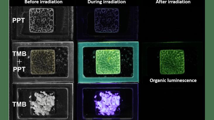 World's First Organic Long-persistent Luminescence