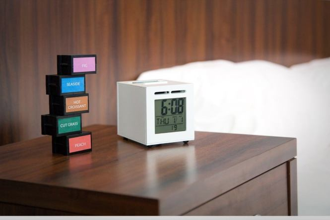 This Aromatic Alarm Clock Wakes You Up