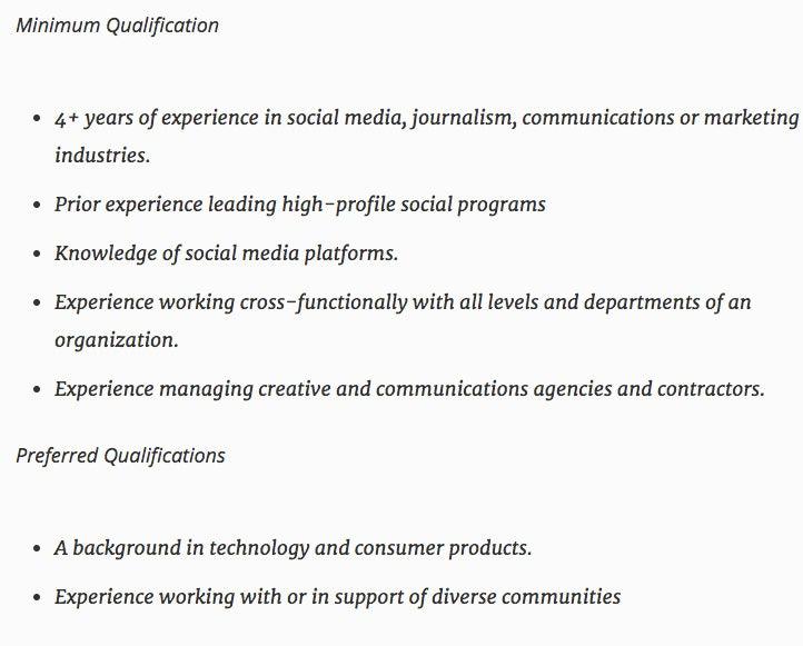 How to Hire a Top Social Media Manager IT Bank Magazine – Social Media Manager Job Description