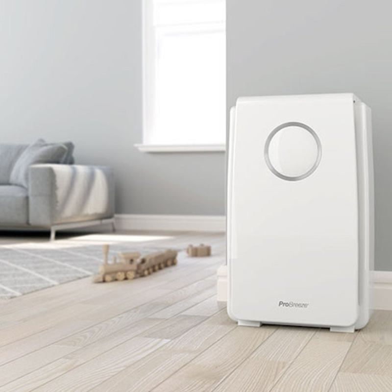 5-in-1 air purifier with HEPA filter and negative ion generator