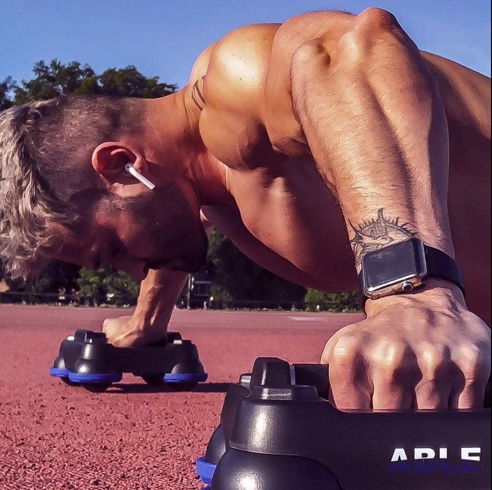 ABLE: Équipement avancé de levier de poids corporel