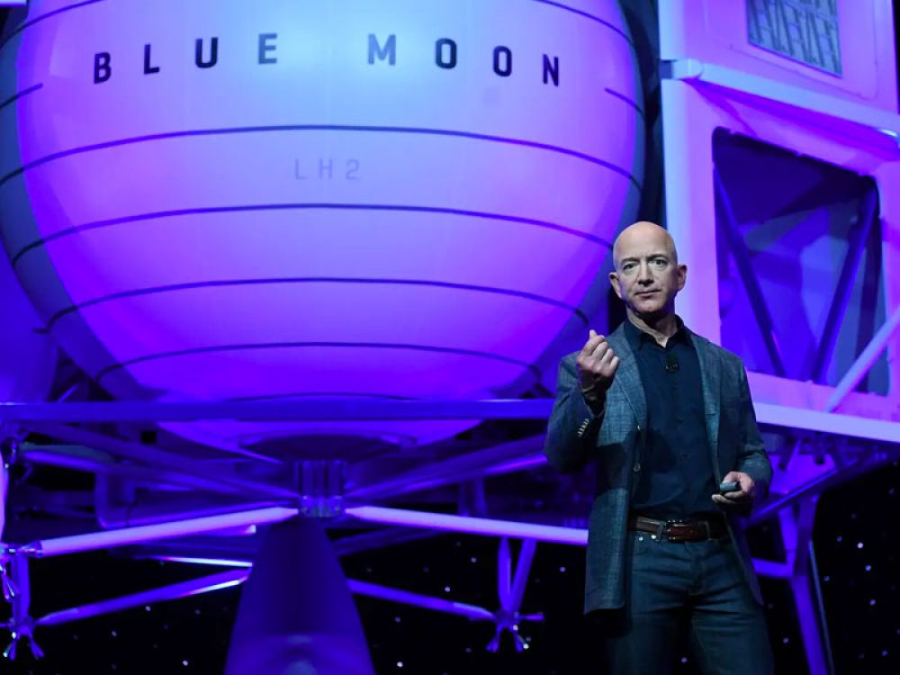 Bezos has a passion for space, as evidenced by his Blue Origin rocket company. In 2013, the exec also funded an expedition to retrieve the remains of multiple Apollo engines from the bottom of the ocean.