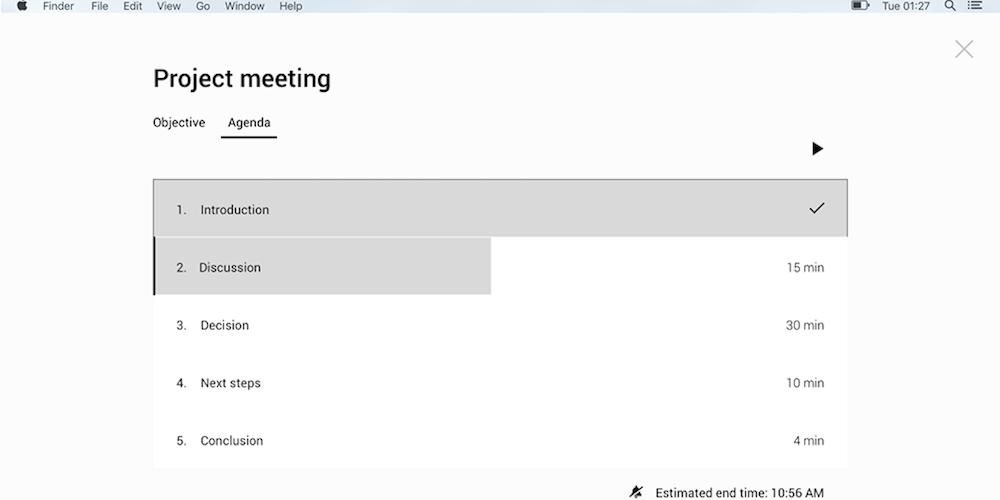 Pinstriped Meeting Tool Premium Plan: Lifetime Subscription