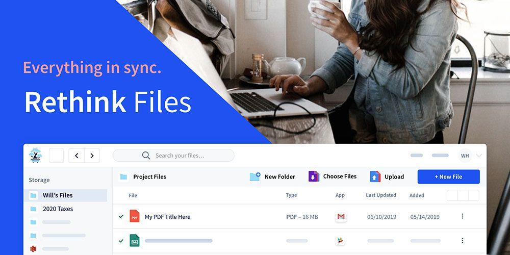 Rethink Files 2TB Cloud Storage + Organization