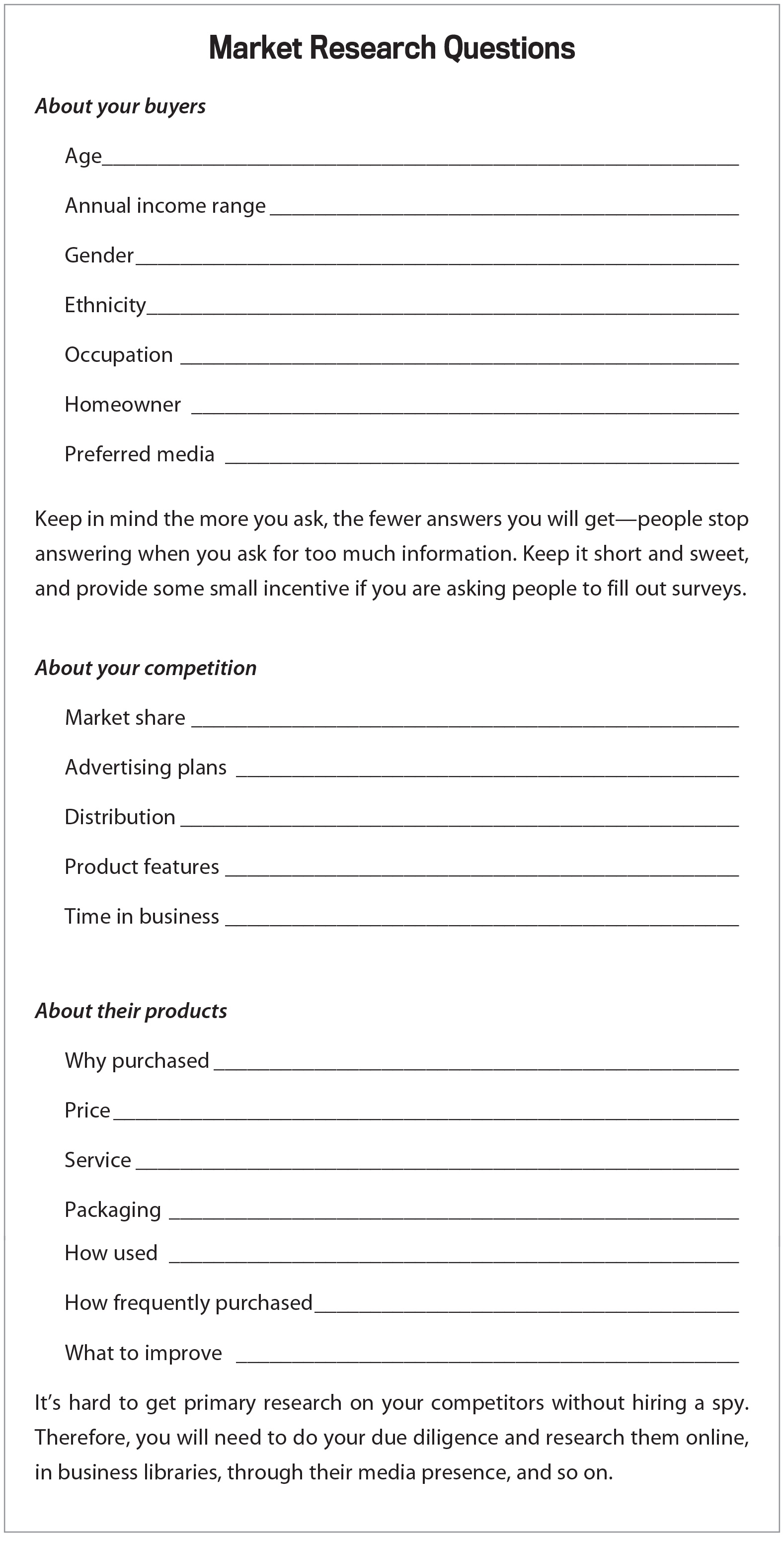 Funeral Planning Worksheet
