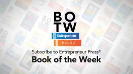Sign up now to Entrepreneur Press: Book of the Week