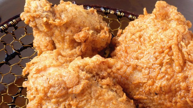 Rosemary-Brined, Buttermilk Fried Chicken