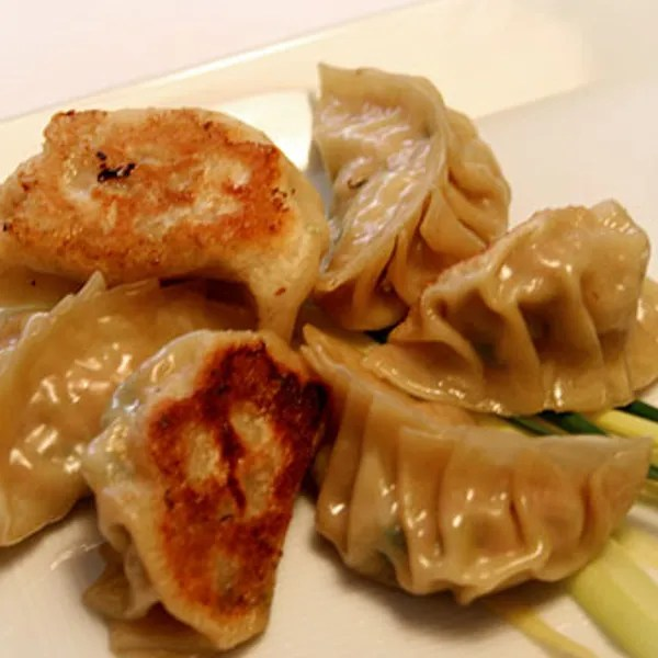 Homemade Dumplings Rolled