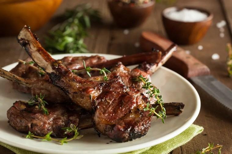 Image result for lamb chop presentation