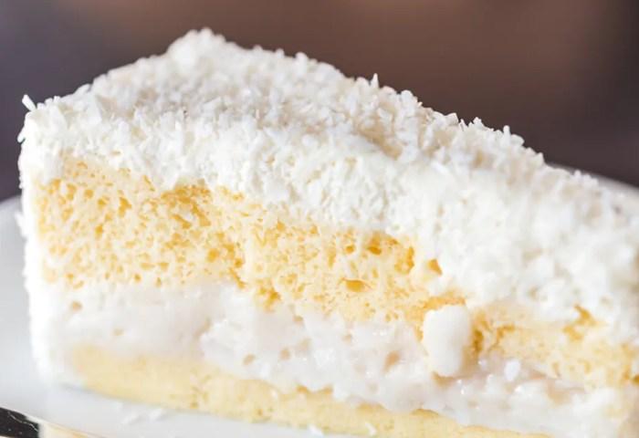 Classic Coconut Cake Recipe Epicuriouscom