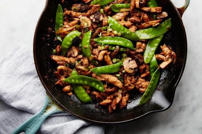 Stir-Fried Chicken With Black Beans Recipe
