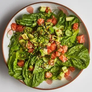 Image may contain Plant Food Dish Meal Salad and Vegetable
