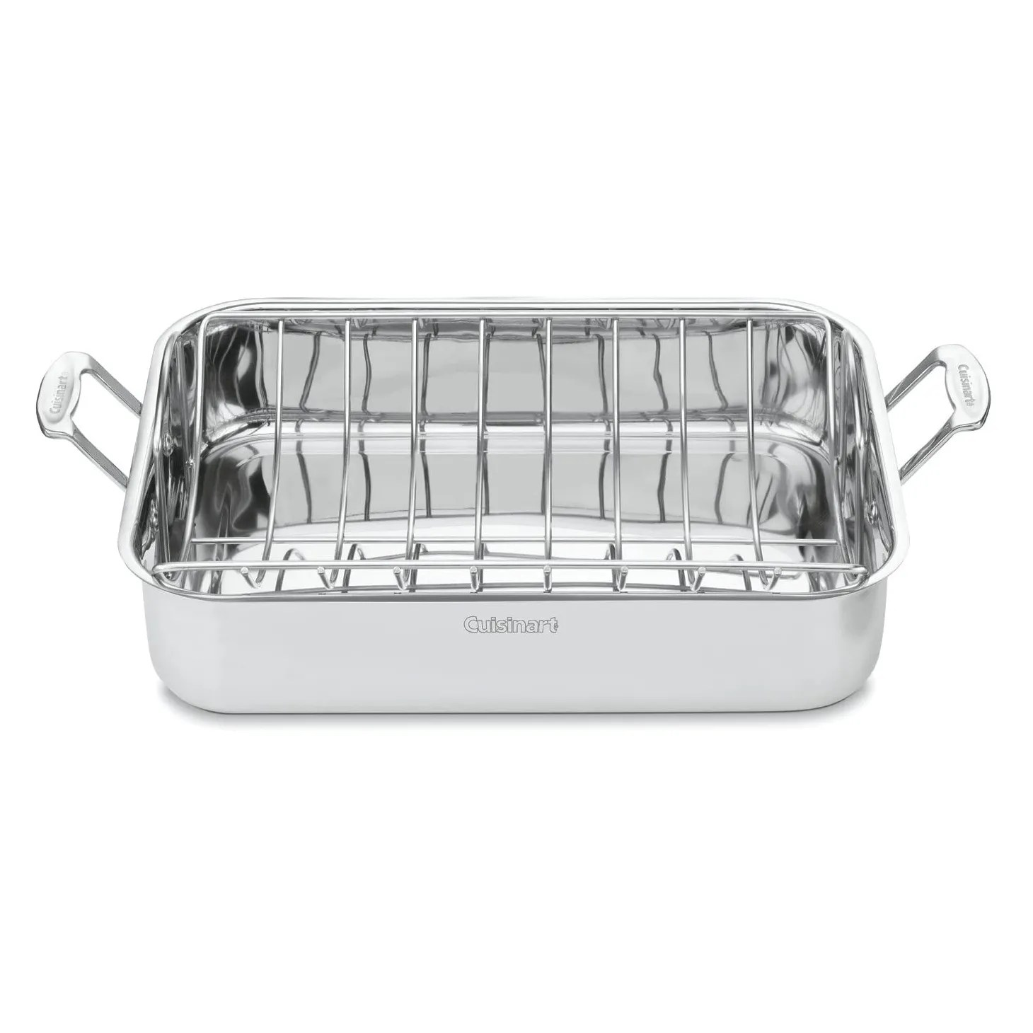 the best roasting pan with rack 2020