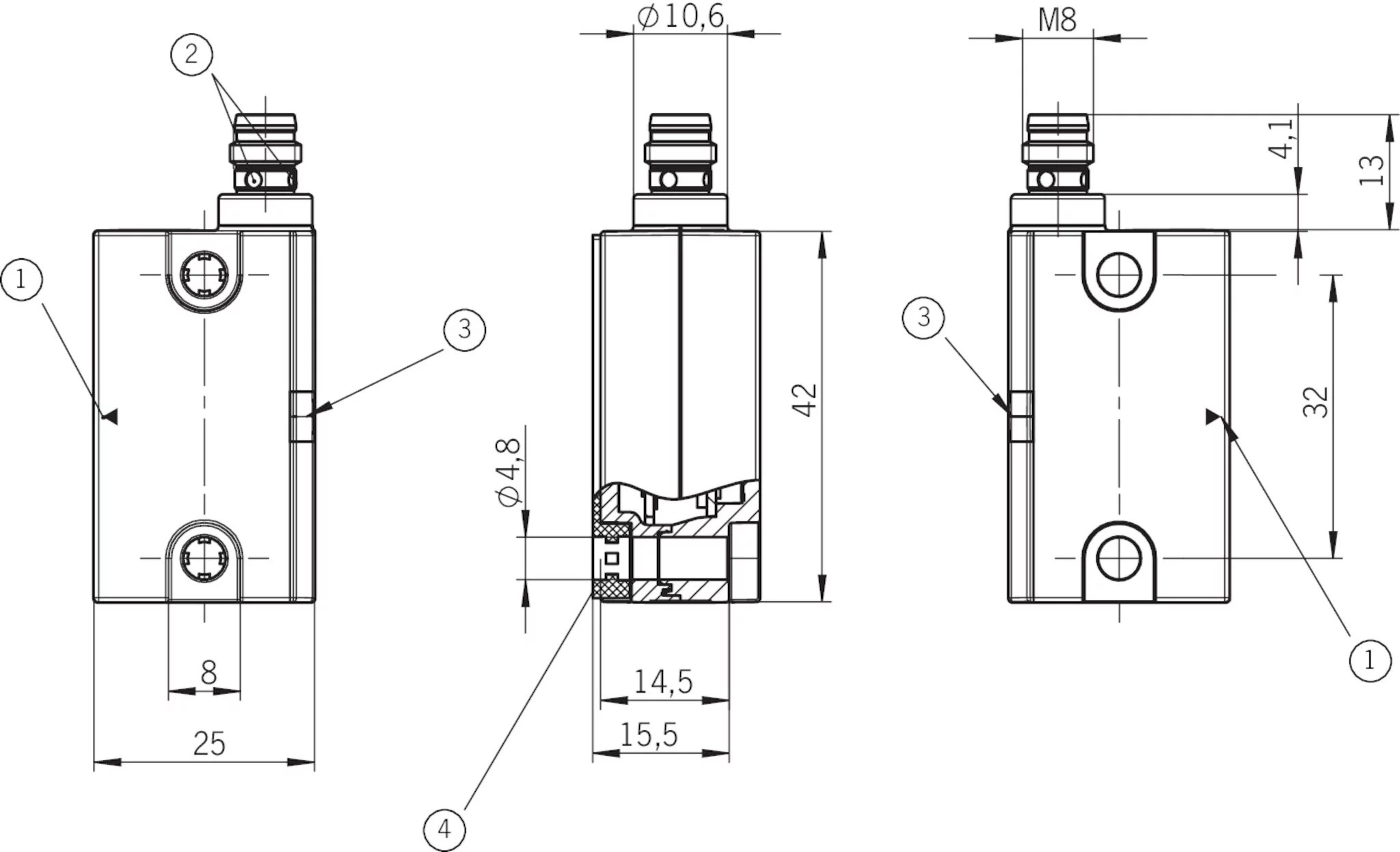 Ces I As2a U C04 Sc Safety Switch Ces As C04 With
