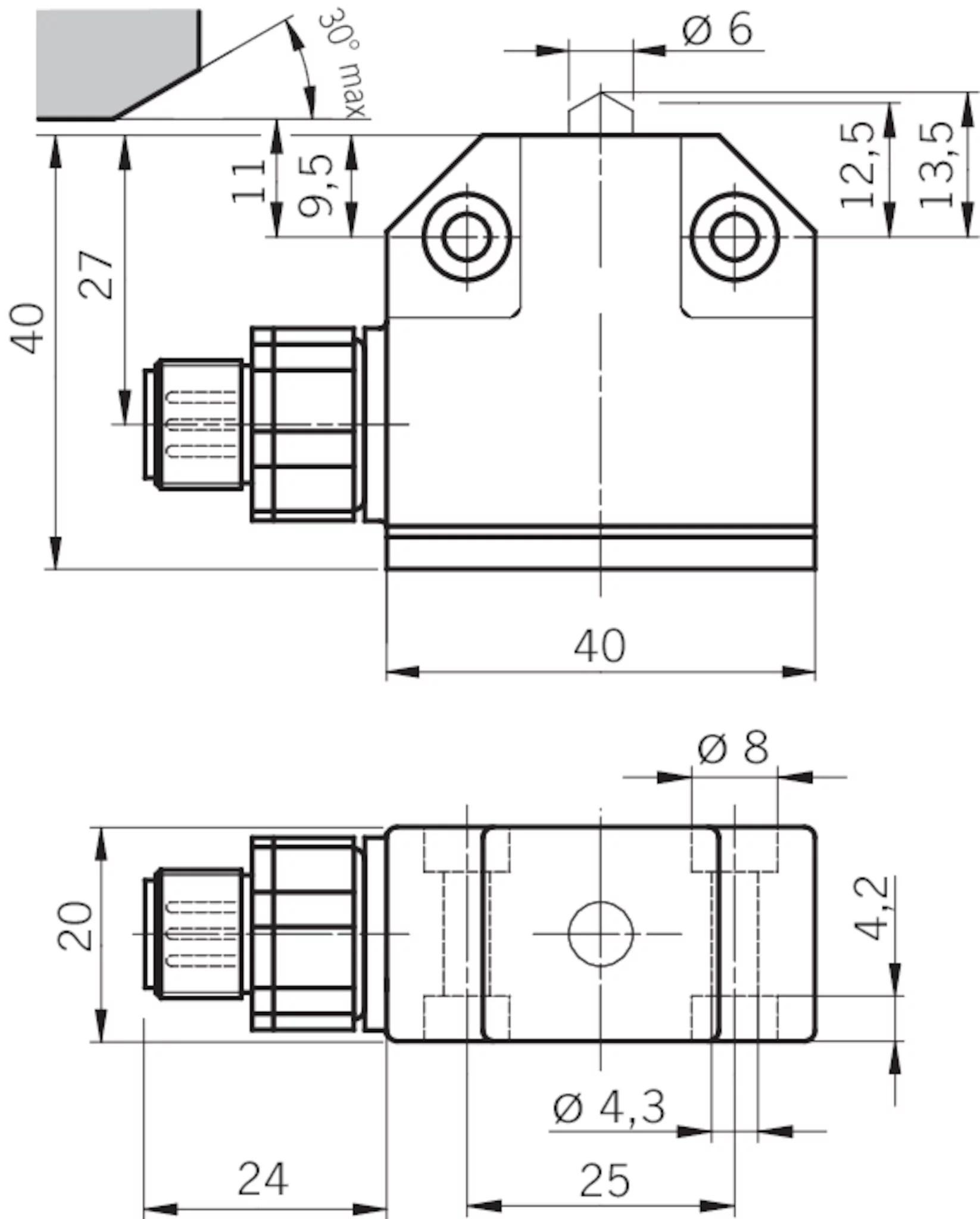 N01k550svm5 M Precision Single Limit Switch N01 Ball