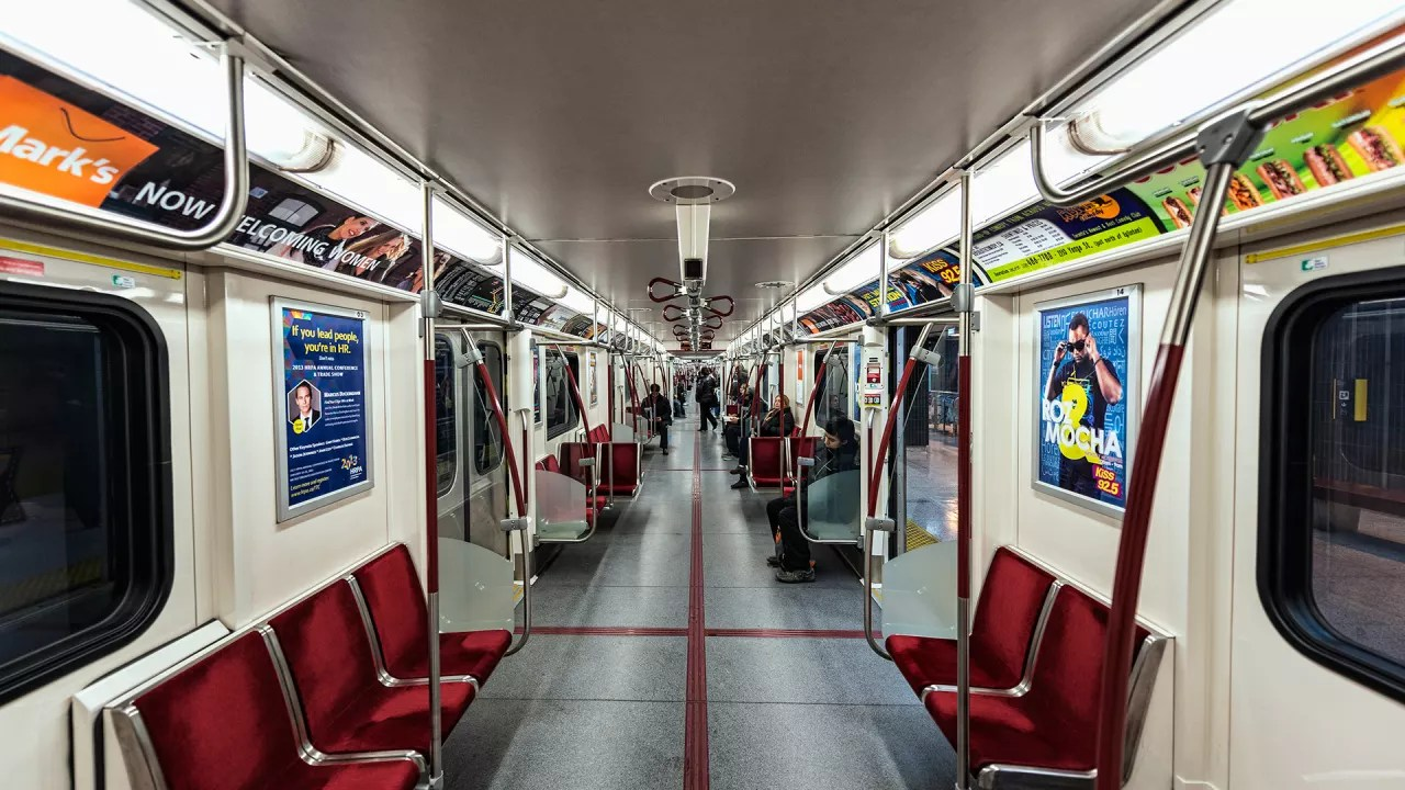 How NYC Is Subtly Redesigning The Subway Car For City