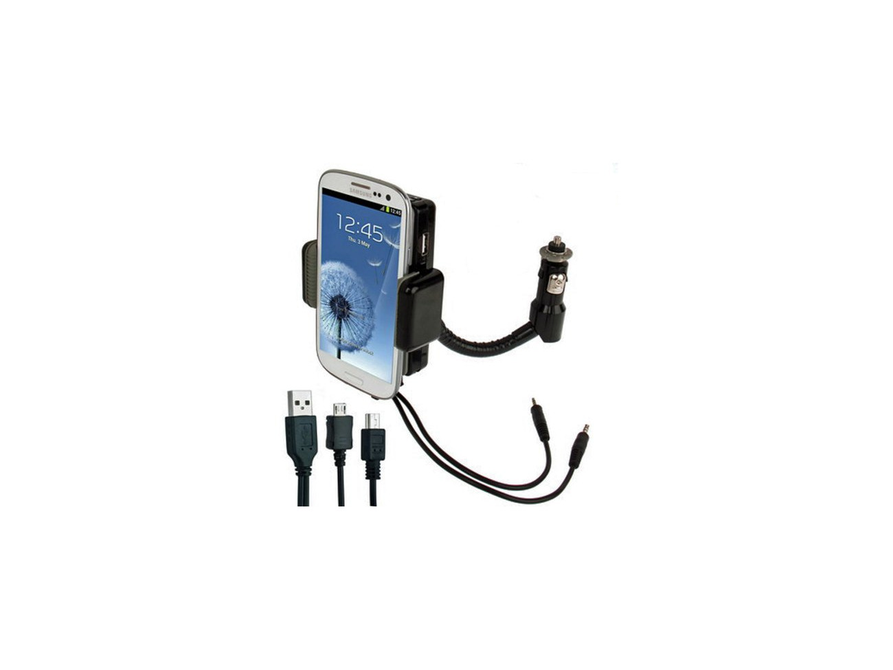 Buy Lupo 3 In 1 Universal All Channel Fm Transmitter Car